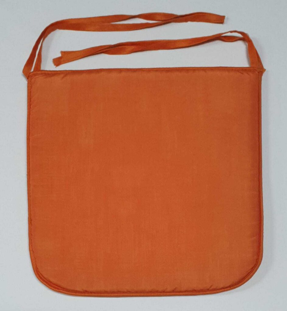 Cuscino Sedia Arancione