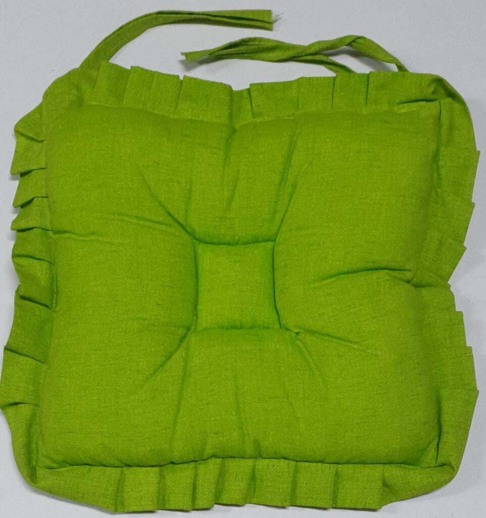 Cuscino Sedia Verde