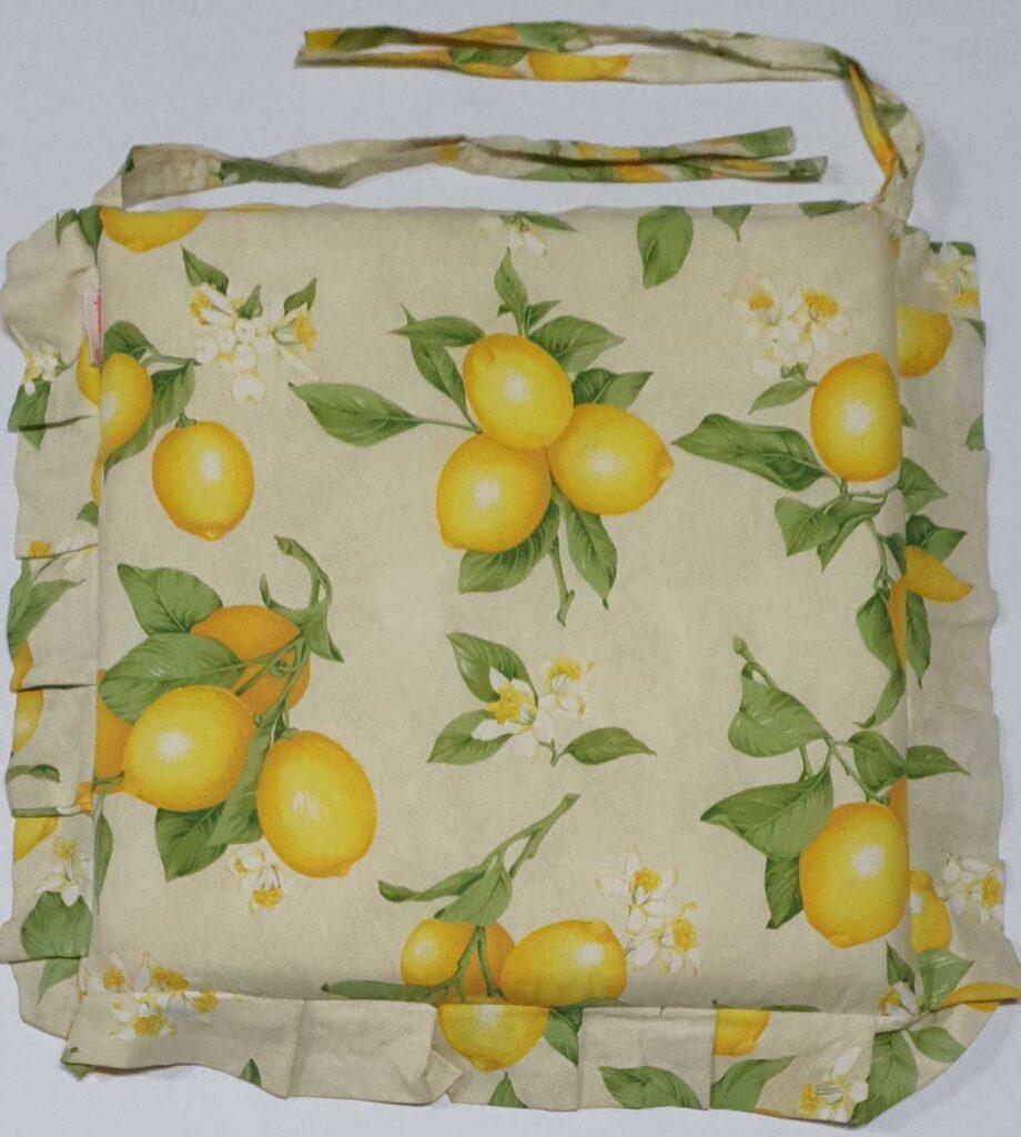 Cuscino Sedia Limoni