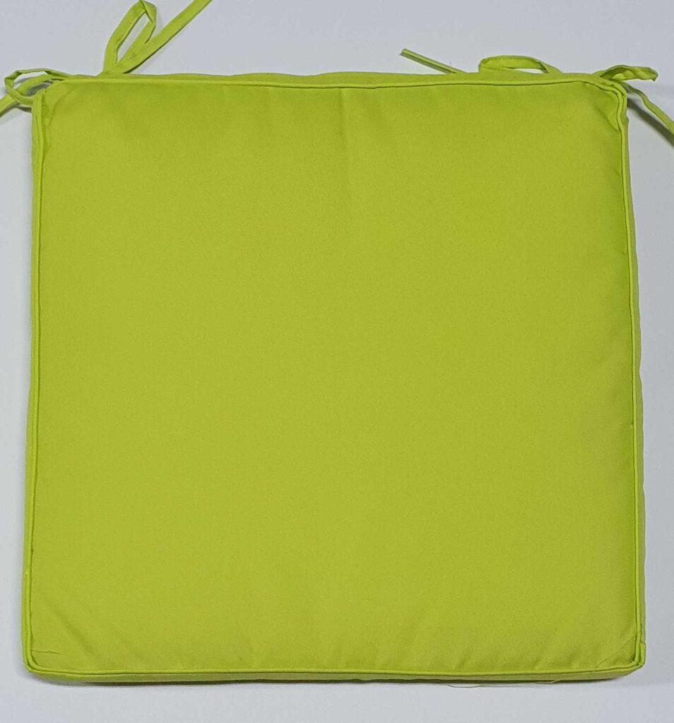 Cuscino Sedia Verde Mela