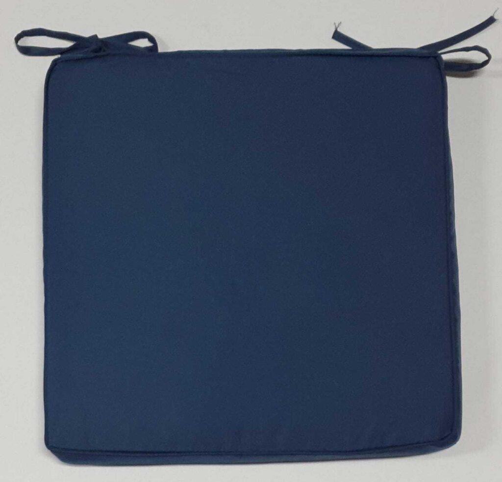 Cuscino Sedia Blu
