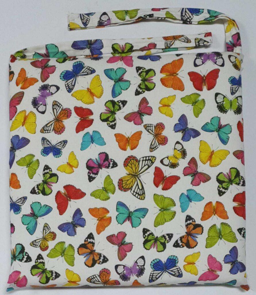 Cuscino Sedia Farfalle